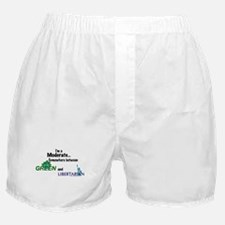 I'm A Moderate Boxer Shorts