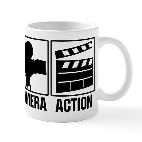 Lights, Camera, Action Mug