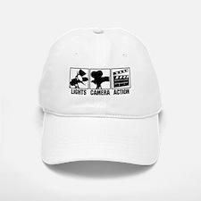 Lights, Camera, Action Baseball Baseball Cap