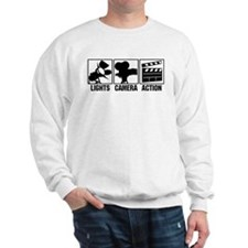 Lights, Camera, Action Sweatshirt