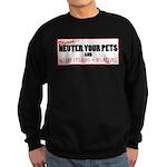Neuter The Weirdos! Sweatshirt (dark)