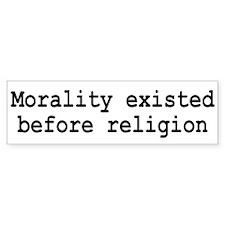 Religion / Morality Bumper Sticker 2
