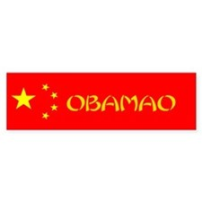 Obama Mao Bumper Sticker