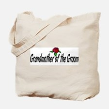 """Grandmother of the groom"" Tote Bag"