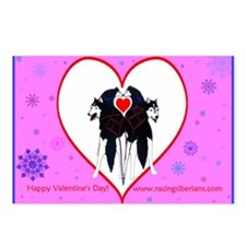 Valentine  Postcards (Package of 8)