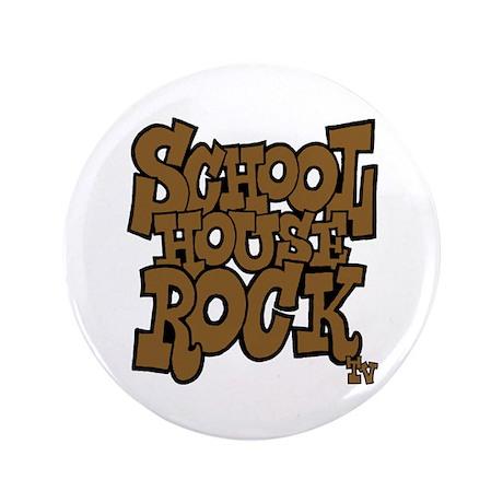"Schoolhouse Rock TV 3.5"" Button"
