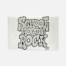 Schoolhouse Rock TV Rectangle Magnet