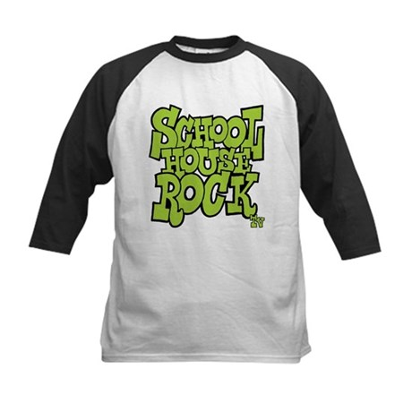 Schoolhouse Rock TV Kids Baseball Jersey
