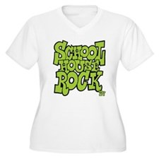 Schoolhouse Rock TV Women's Plus Size V-Neck T-Shi
