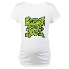 Schoolhouse Rock TV Maternity T-Shirt