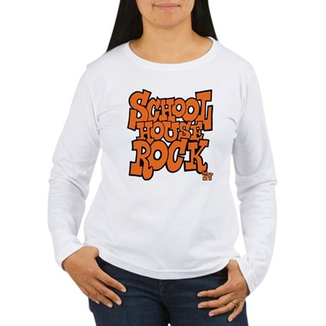 Schoolhouse Rock TV Women's Long Sleeve T-Shirt