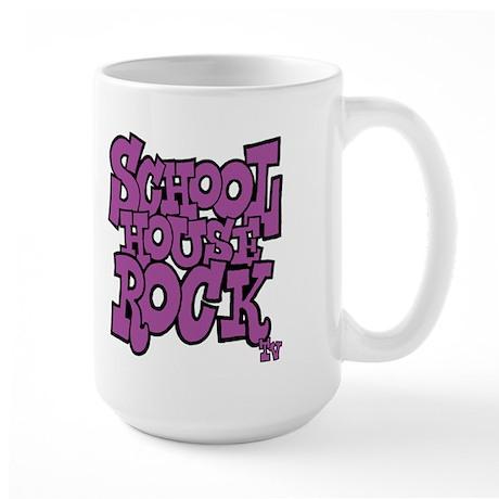 Schoolhouse Rock TV X 2 Large Mug