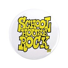"Schoolhouse Rock TV 3.5"" Button"