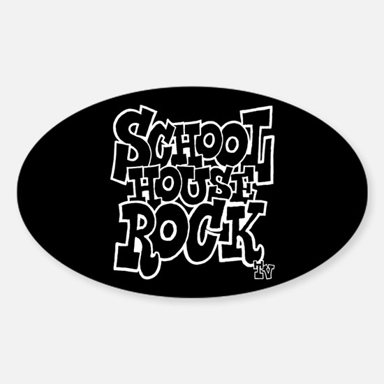 Schoolhouse Rock TV Sticker (Oval)