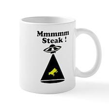 Abducted cow - Mmmm steak Mug