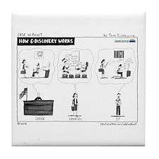 11/17/2008 - How eDiscovery W Tile Coaster