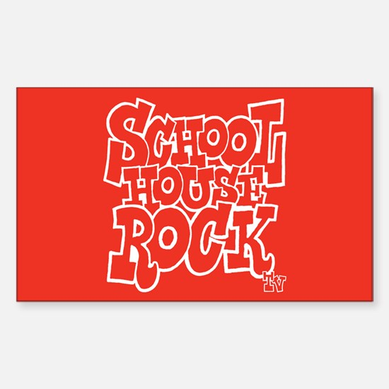 Schoolhouse Rock TV Sticker (Rectangle)