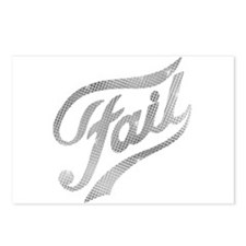 Fame - Fail silver Postcards (Package of 8)