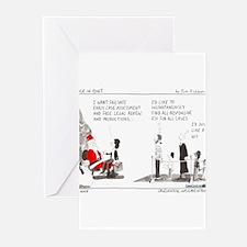 12/22/2008 - Santa Greeting Cards (Pk of 20)