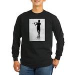 flute player Long Sleeve T-Shirt