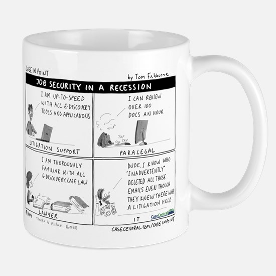 4/6/2009 - Job Security Mug