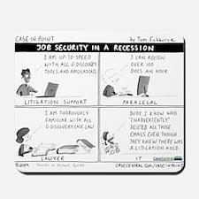 4/6/2009 - Job Security Mousepad