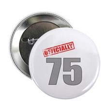 "Officially 75 2.25"" Button (100 pack)"