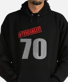Officially 70 Hoodie (dark)