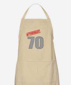Officially 70 Apron