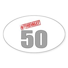 Officially 50 Decal