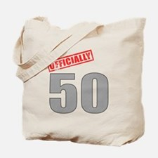 Officially 50 Tote Bag