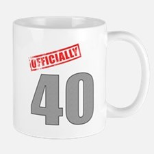 Officially 40 Mug