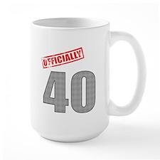 Officially 40 Mug