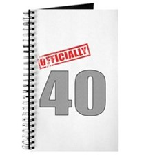 Officially 40 Journal
