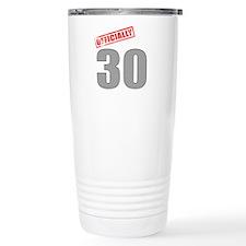 Officially 30 Travel Mug