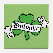 Holyoke Shamrock Tile Coaster