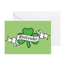 Holyoke Shamrock Greeting Cards (Pk of 10)