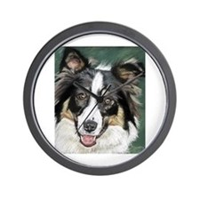 Unique Images of puppies Wall Clock