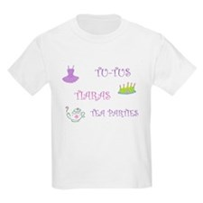 Tutus, Tiaras & Teaparties T-Shirt