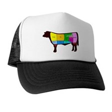 Beef Cuts Trucker Hat