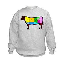 Beef Cuts Sweatshirt