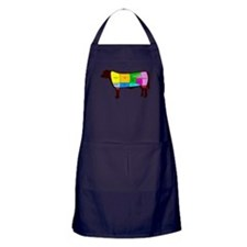 Beef Cuts Apron (dark)