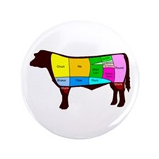 "Beef Cuts 3.5"" Button (100 pack)"