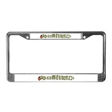 Unique Farmville License Plate Frame