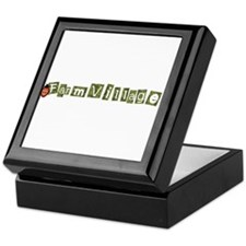 Cute Farmville Keepsake Box
