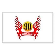 90 Rocks Decal