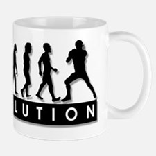 Evolution of Football Mug