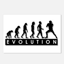 Evolution of Football Postcards (Package of 8)
