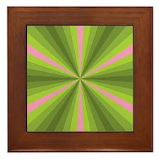 Spring Illusion Framed Tile