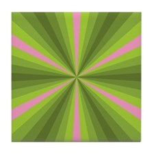 Spring Illusion Tile Coaster
